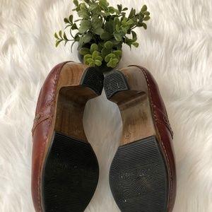 Dansko Shoes - Dansko Riki Women's High Heel Leather Clog 38